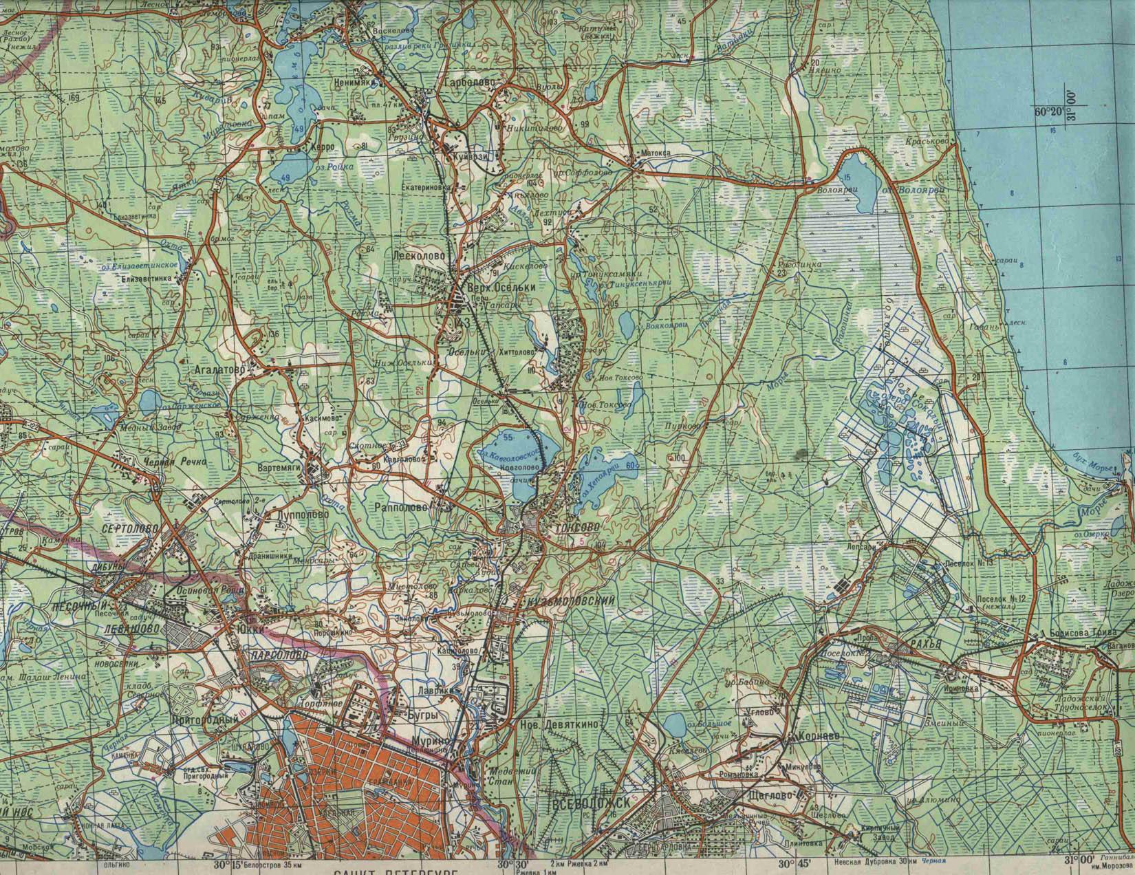 gps карта ленинградской области бесплатно: